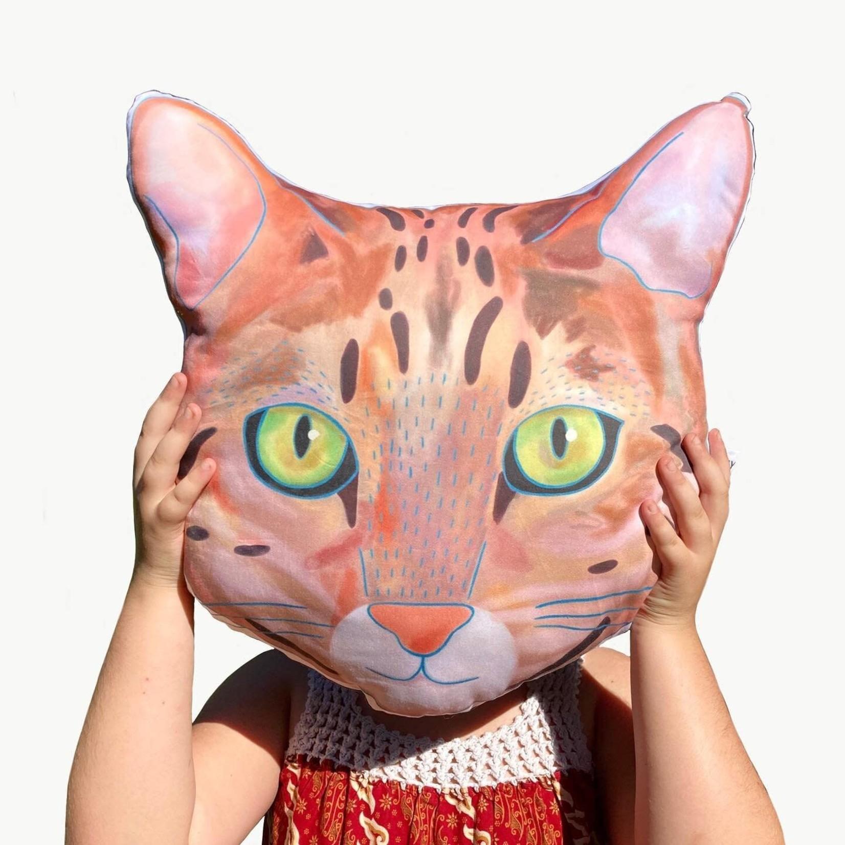 Yay Hooray Animal Face Pillow