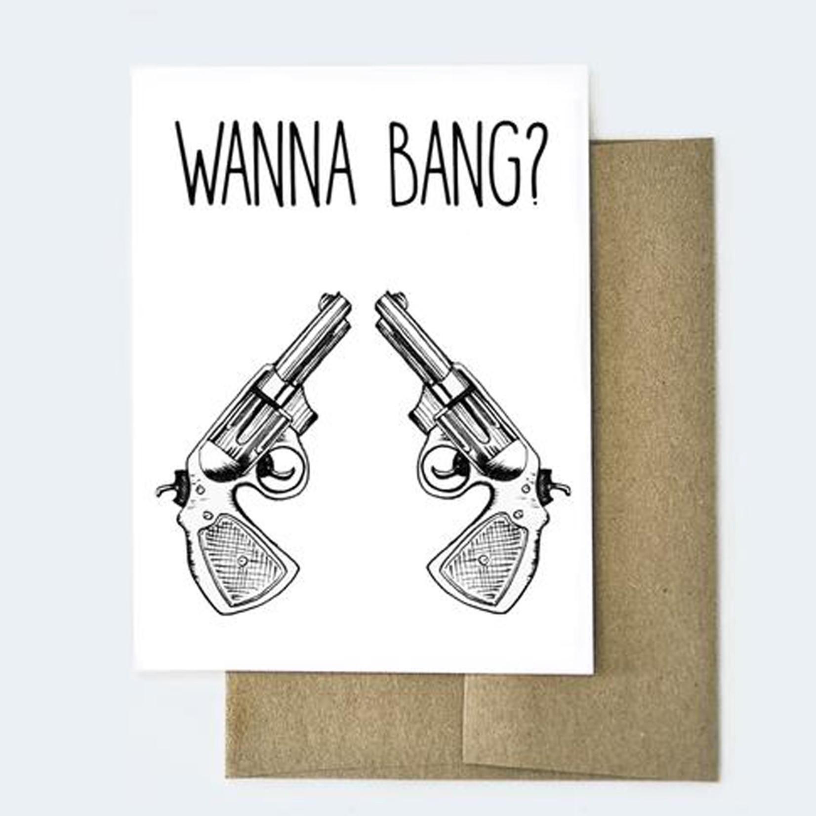 Aviate Press Wanna Bang? Card