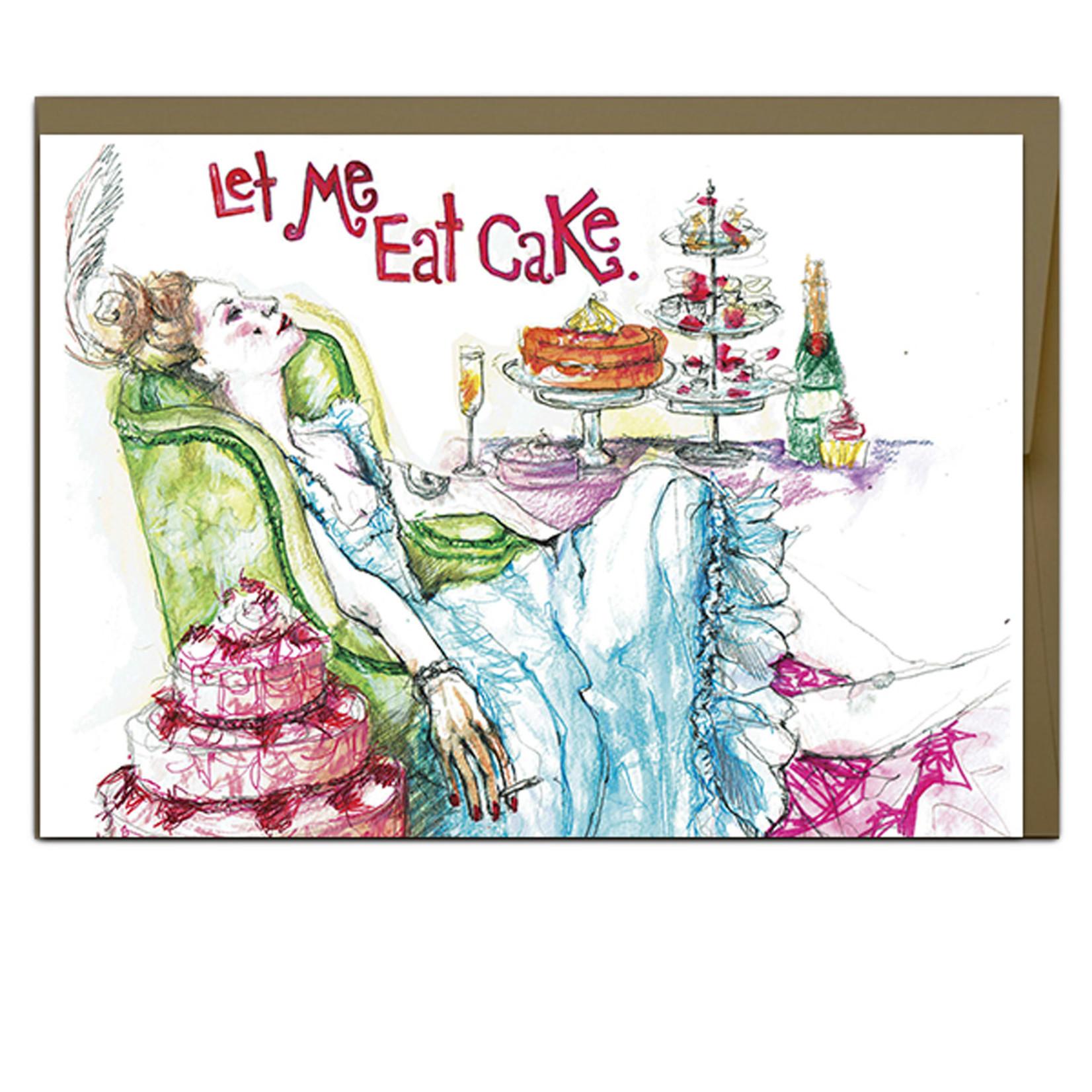 Jillian Ohl Let Me Eat Cake Card