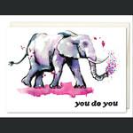 Jillian Ohl Lucky Elephant Card