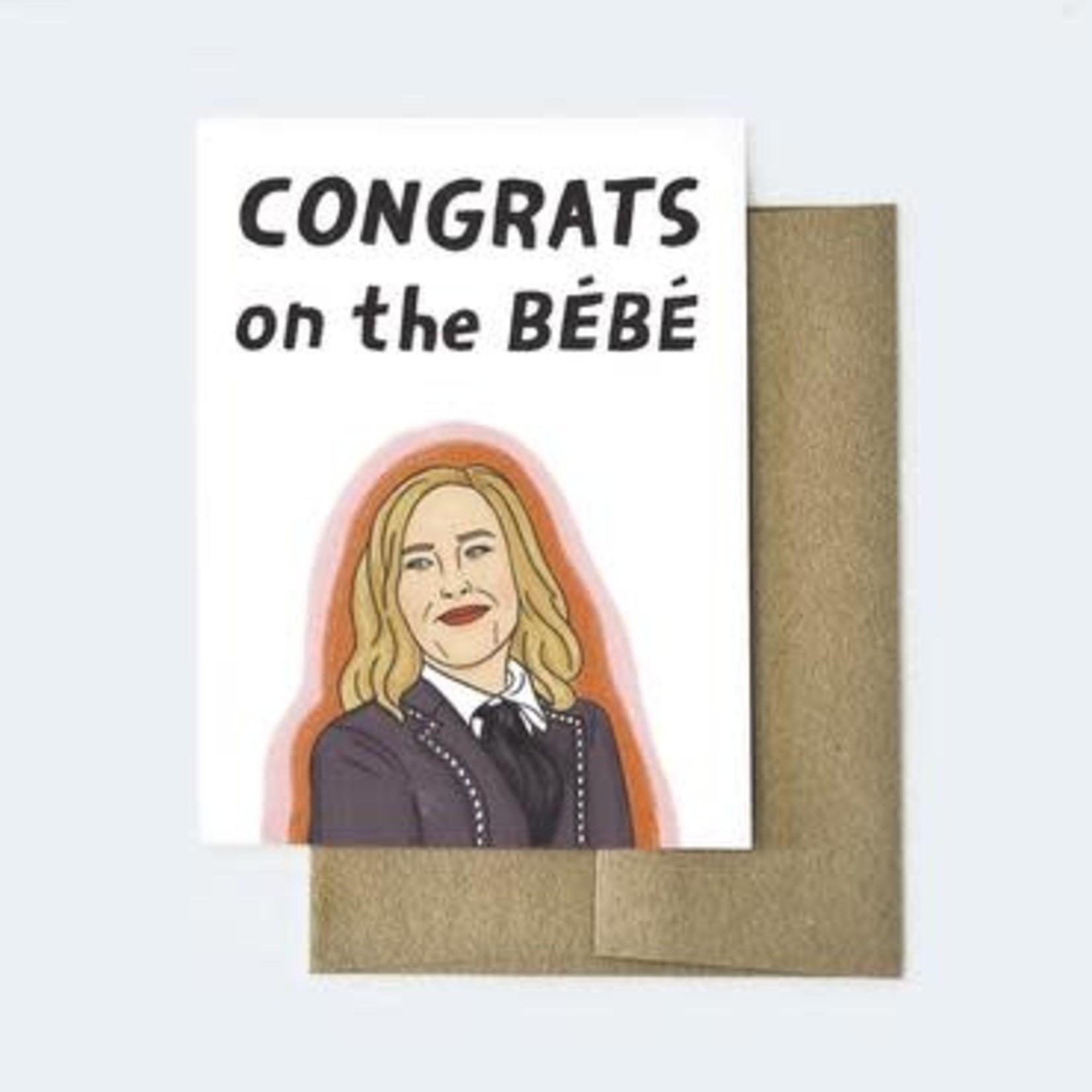 Aviate Press Congrats on the Bebe Card