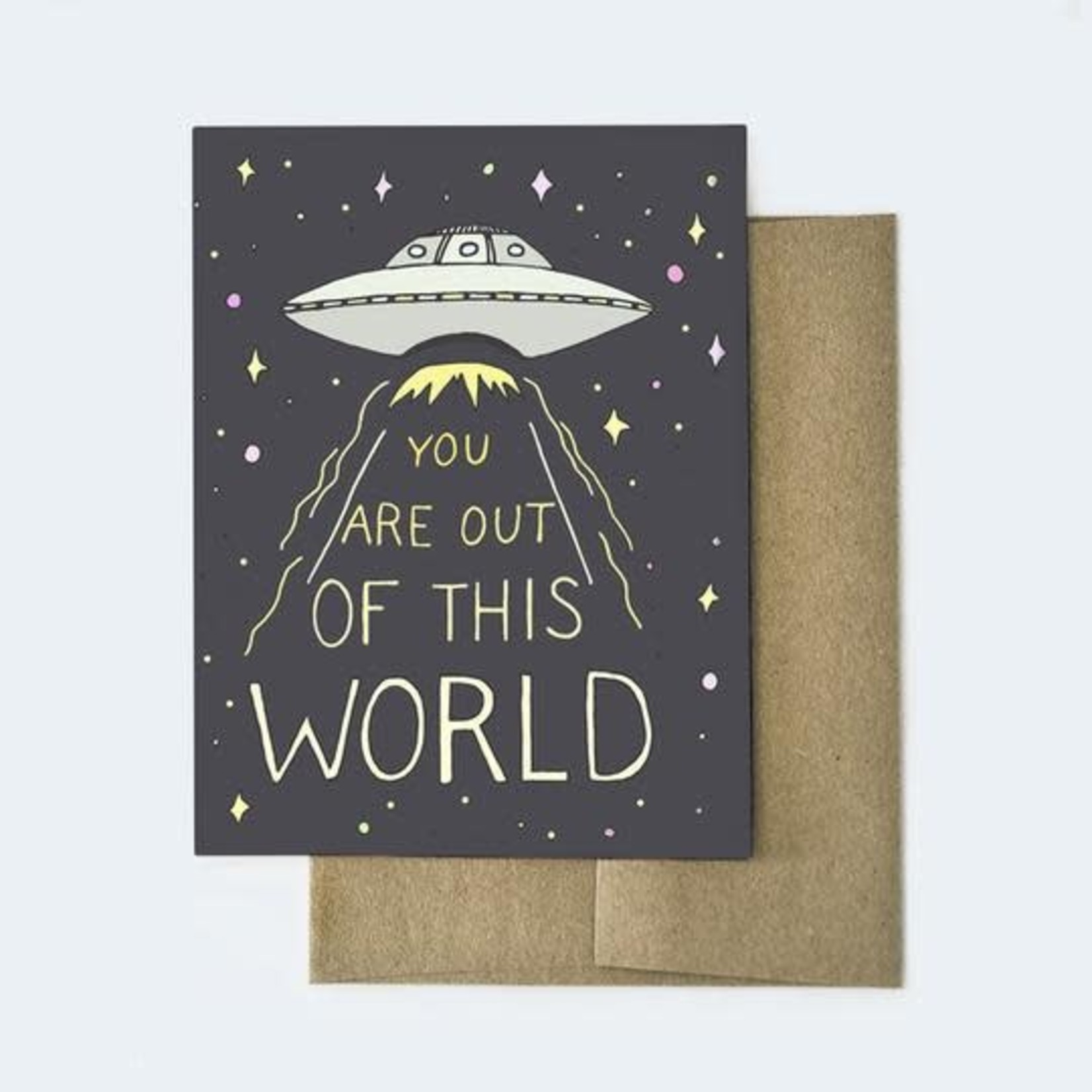Aviate Press Out of this World Card