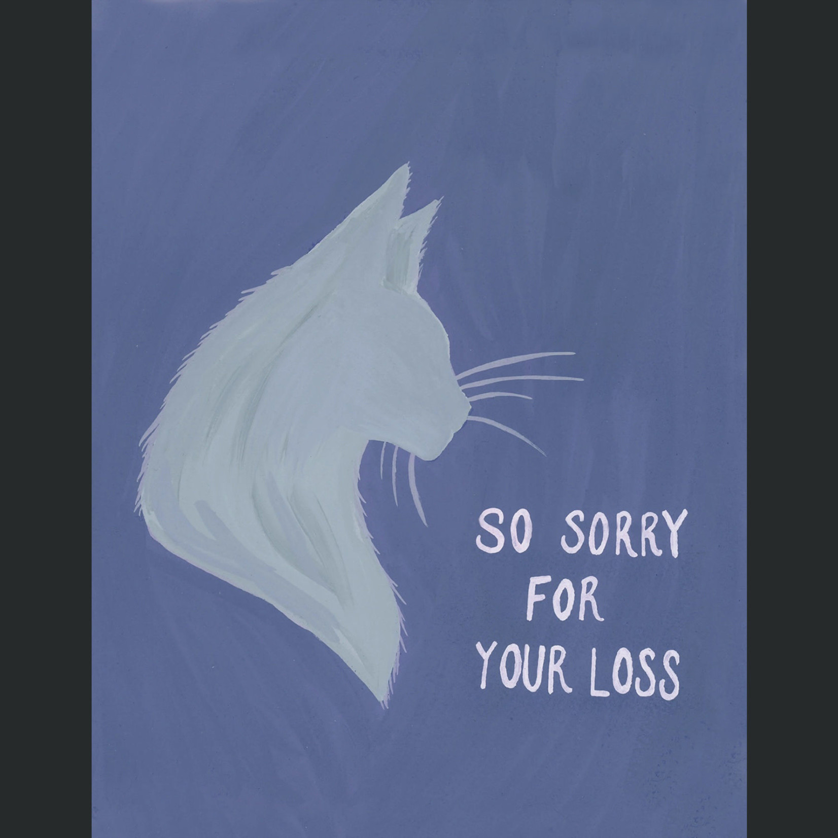 TYLRE Cat Sympathy Card