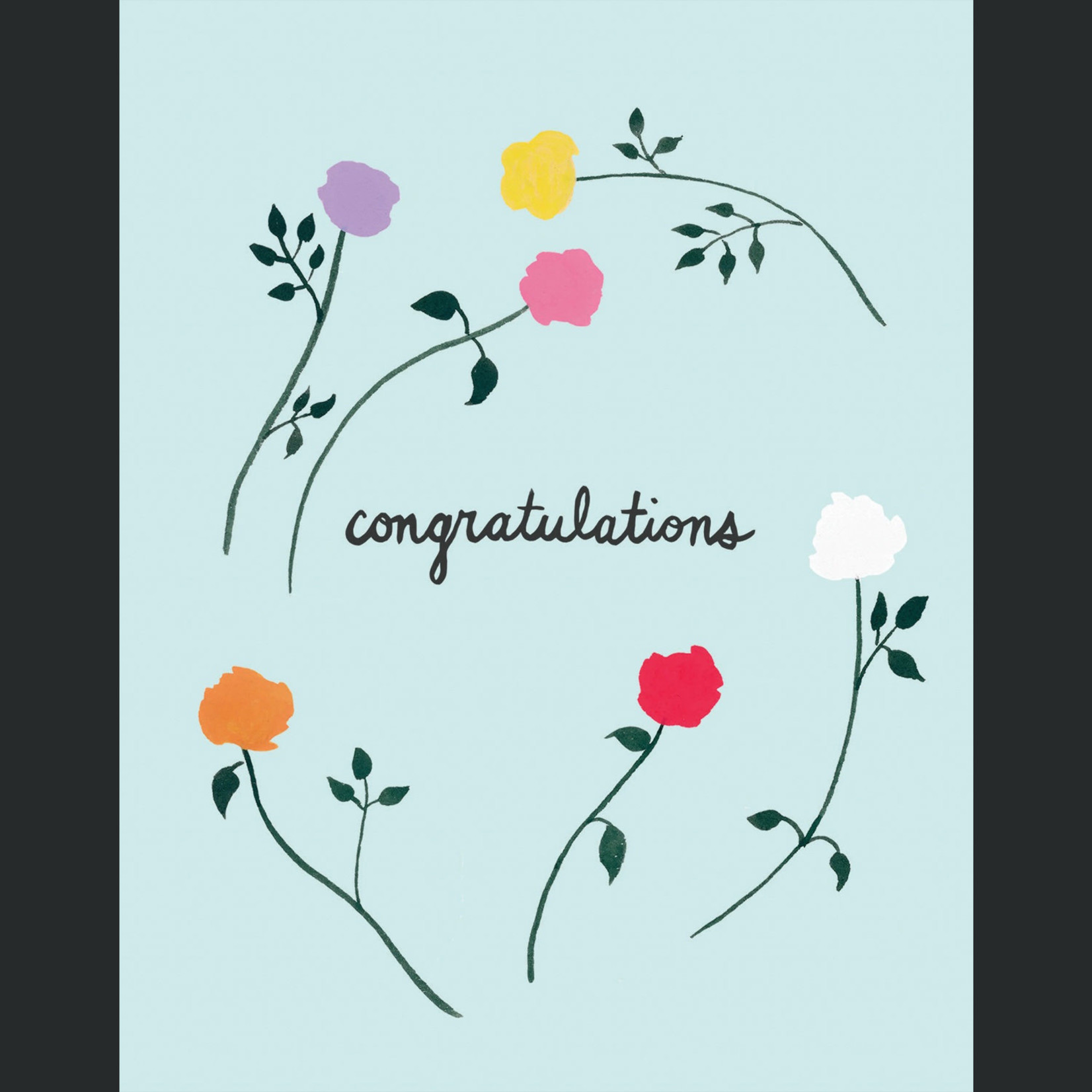 TYLRE Congrats Roses Card