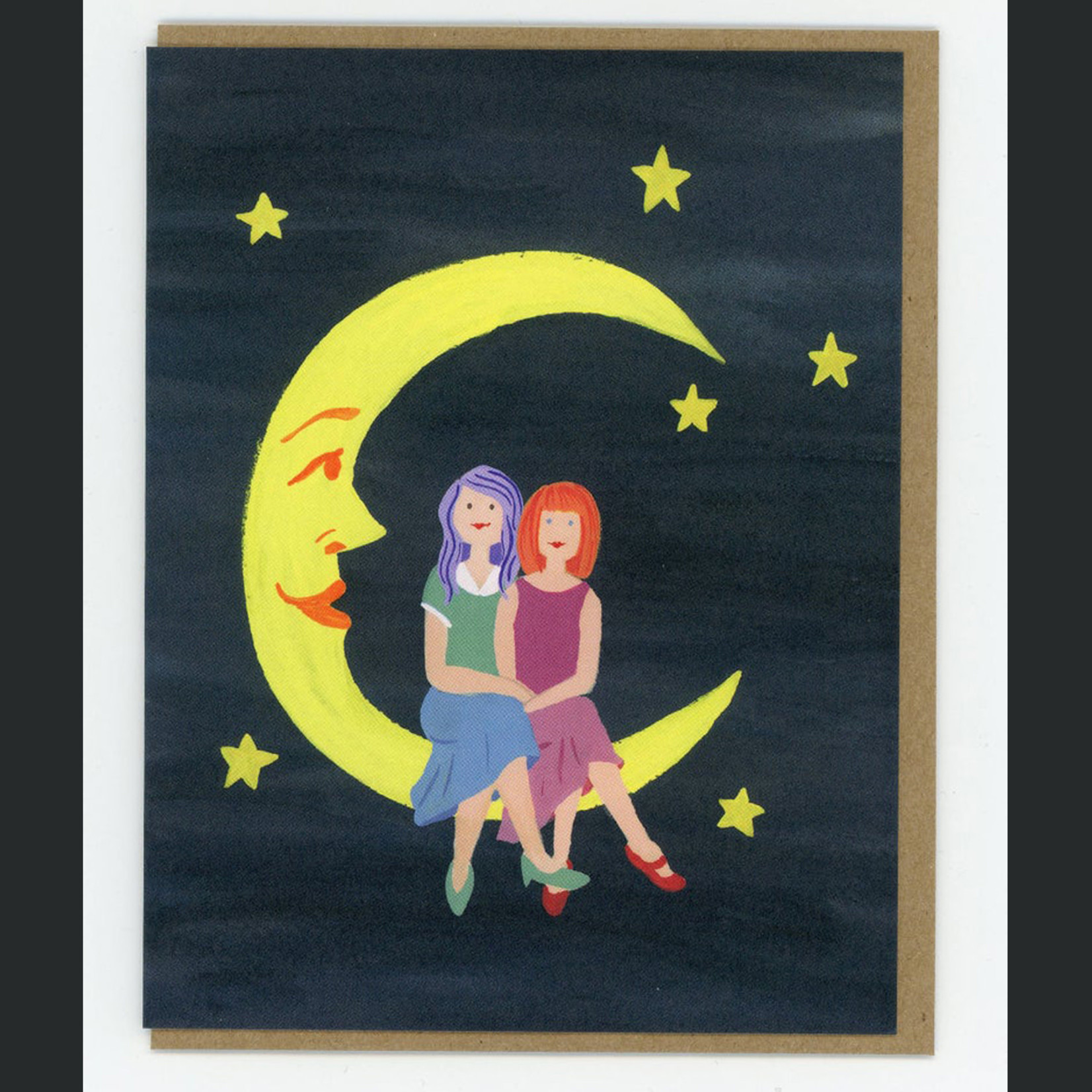 TYLRE Moon Girl + Girl Card