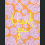 TYLRE Thank You Orange and Pink Card