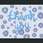 TYLRE Thank You Wheel Flower Card