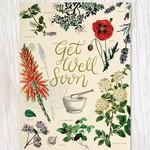 Get Well: Medicinal Botany Card