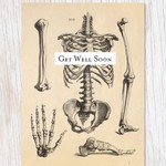 Skeleton Get Well Card