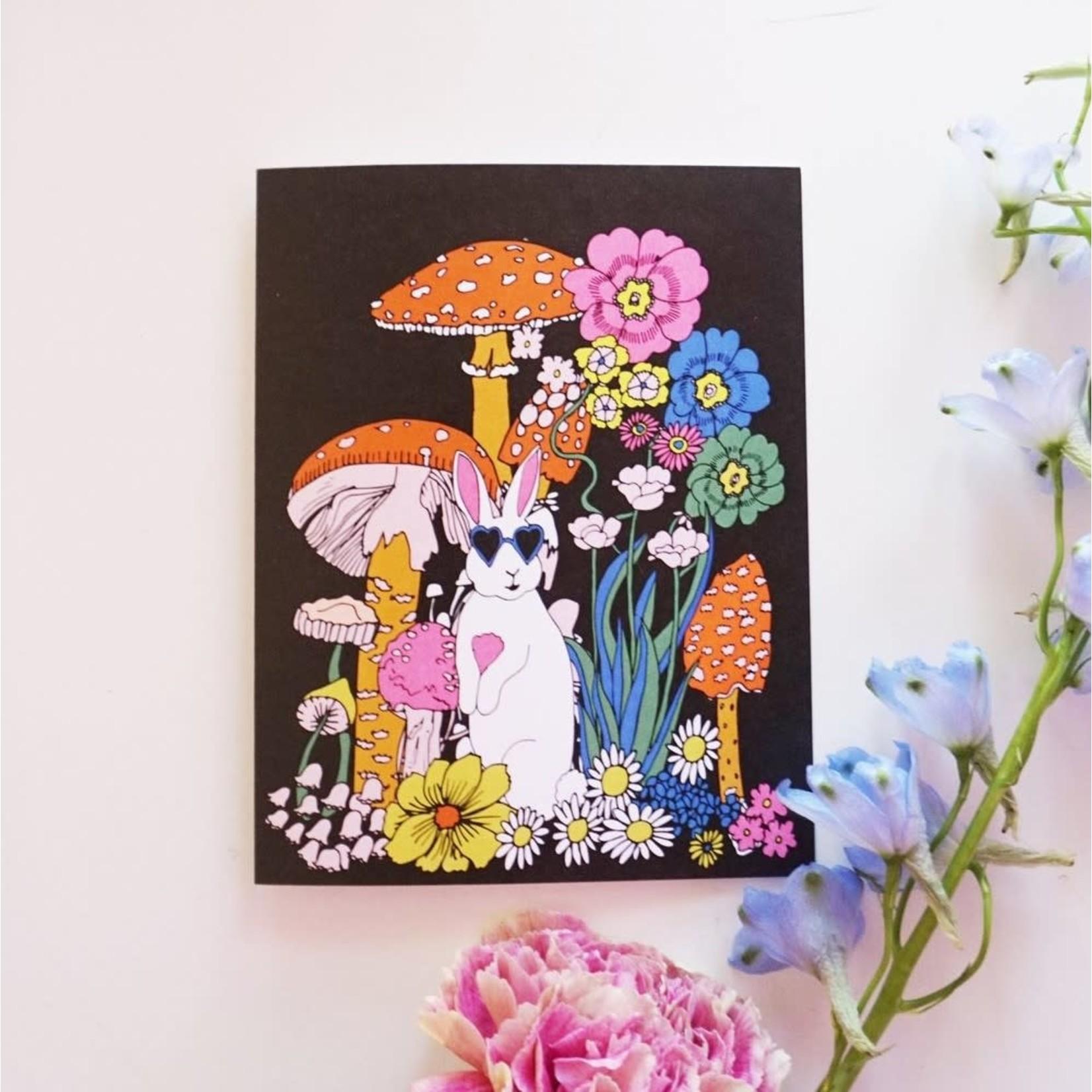 Cool Bunny Card
