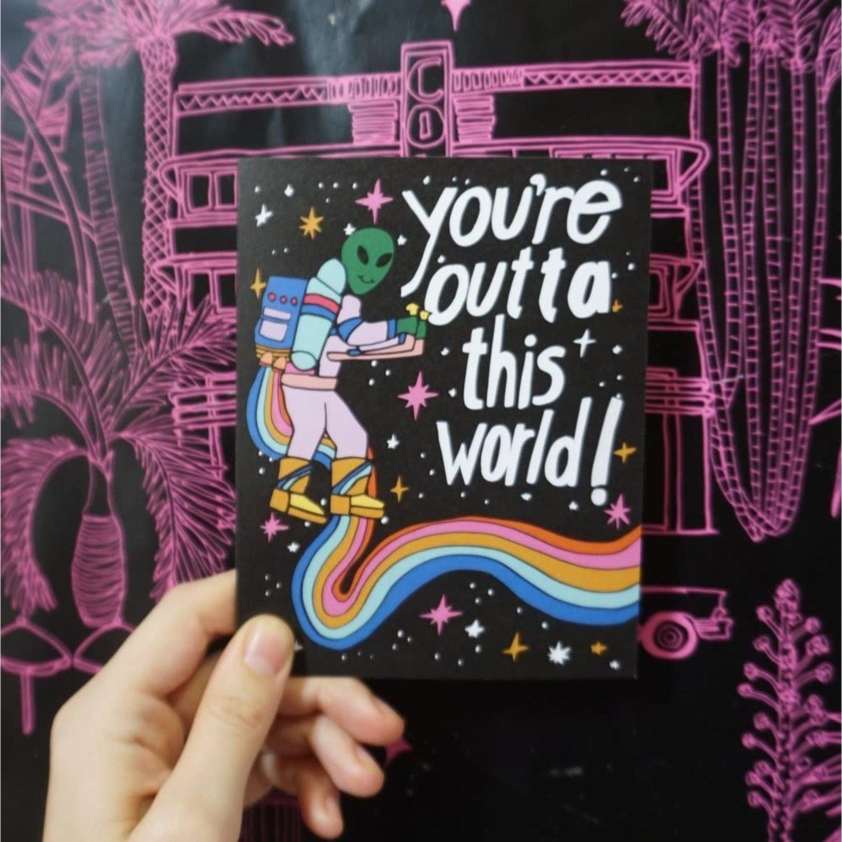 Outta This World Card