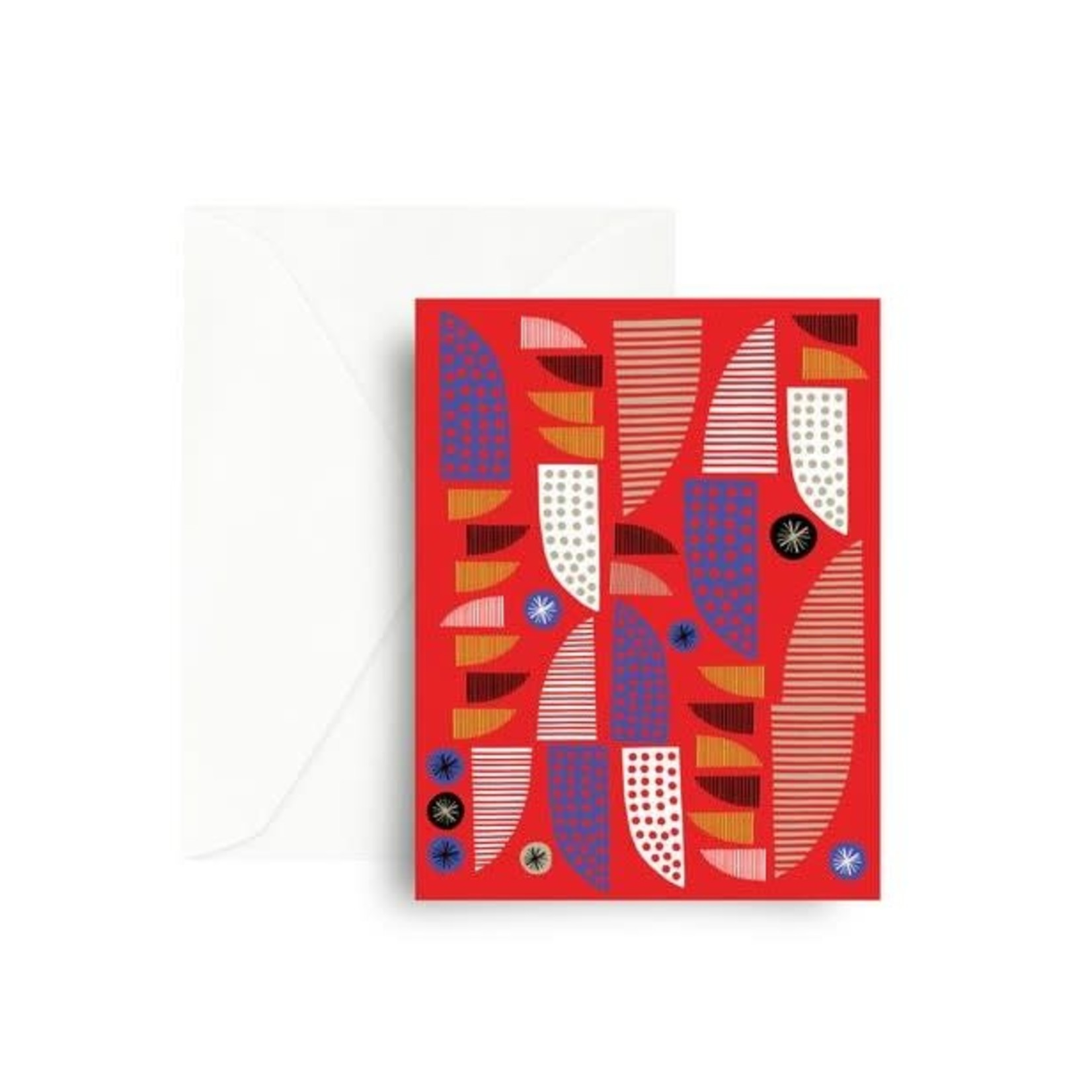 Red Allsorts Card