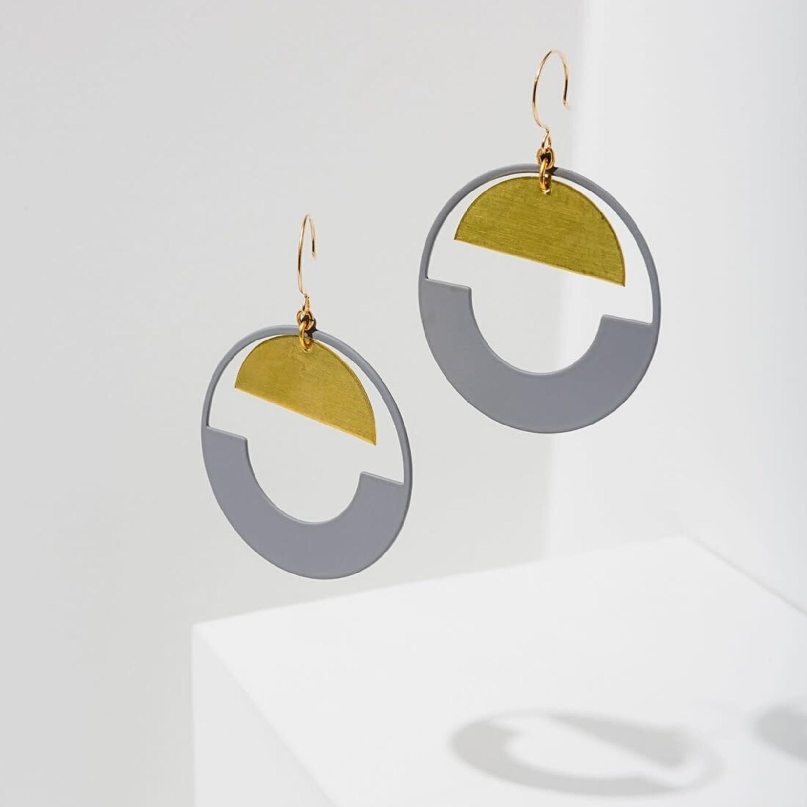 Baltic Hoop Earrings