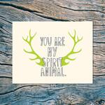 Spirit Animal Card