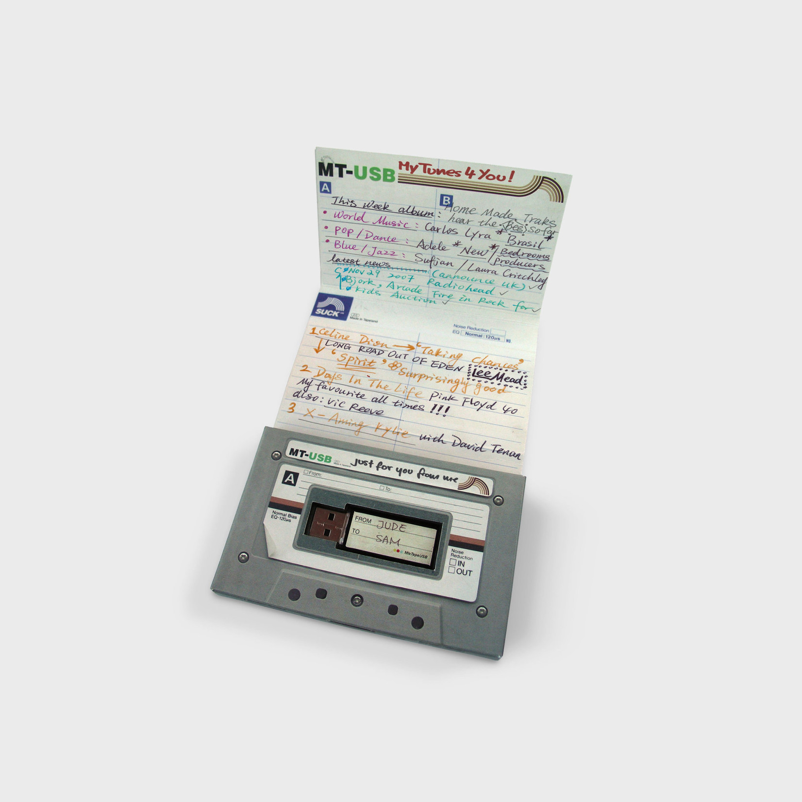 Mix Tape USB Drive