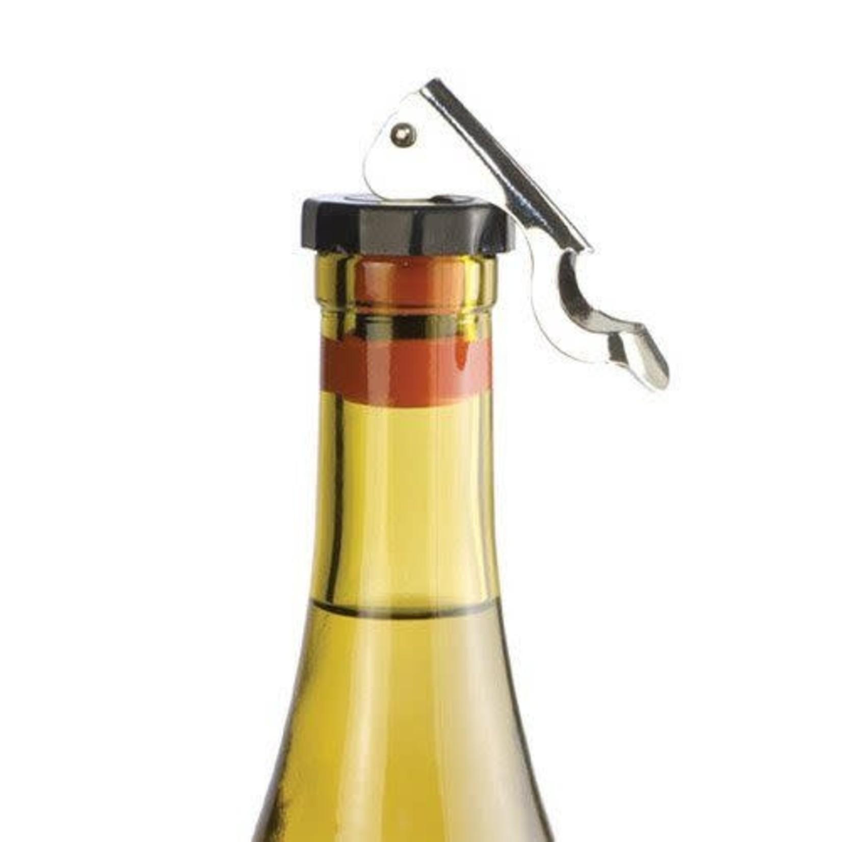 Locking Bottle Stopper