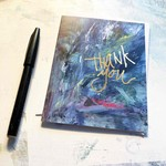Hilary Meehan Art Products Thank You w/Gold Foil