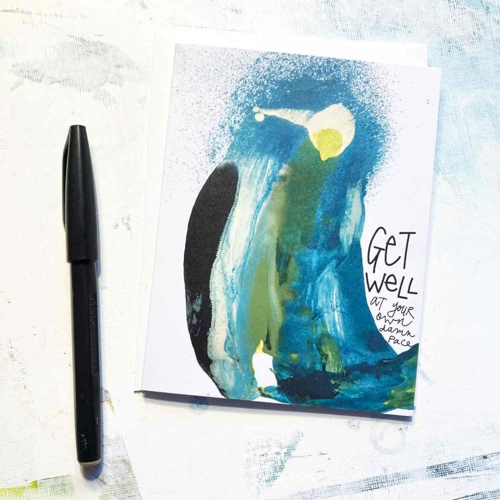 Hilary Meehan Art Products Get Well (at your own damn pace)