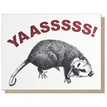 Guttersnipe Press Yaas Possum Card