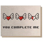 Guttersnipe Press You Complete Me Card