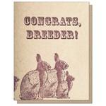 Guttersnipe Press Congrats Breeder Card