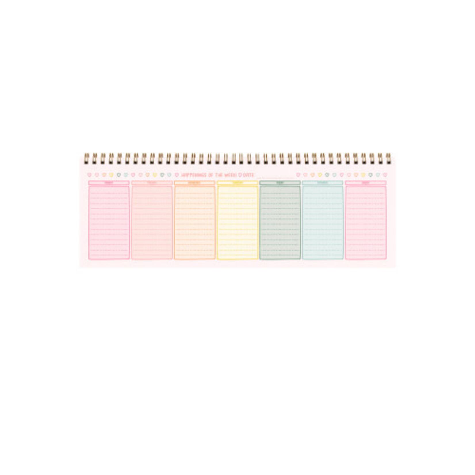 Weekly Notepad Fresh Start