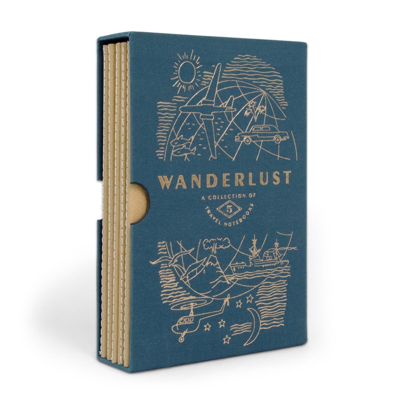 Wanderlust Travel Planner Set (5)