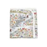North Carolina Cotton Baby Blanket