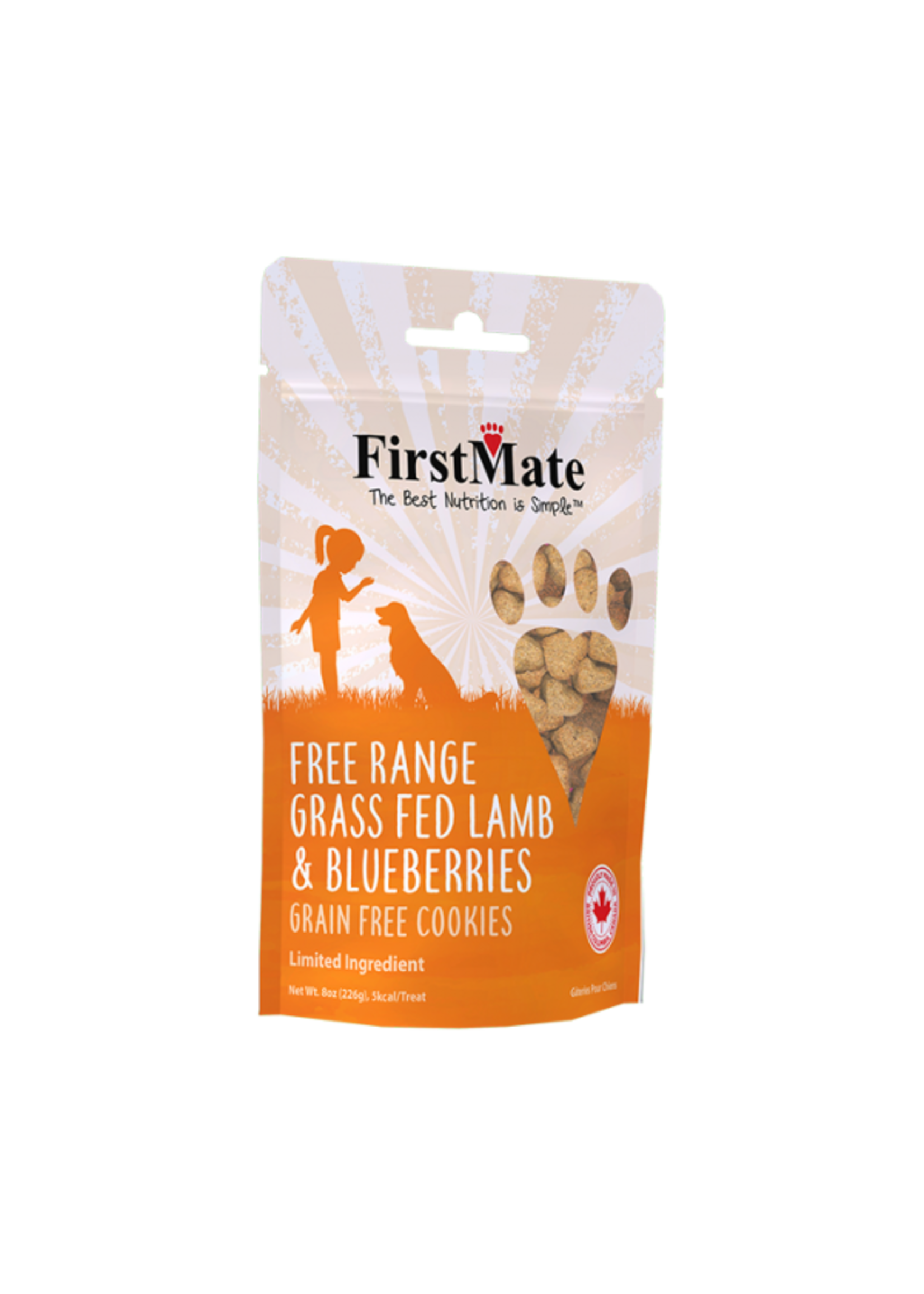 FirstMate FirstMate Lamb Blueberry Dog Treat