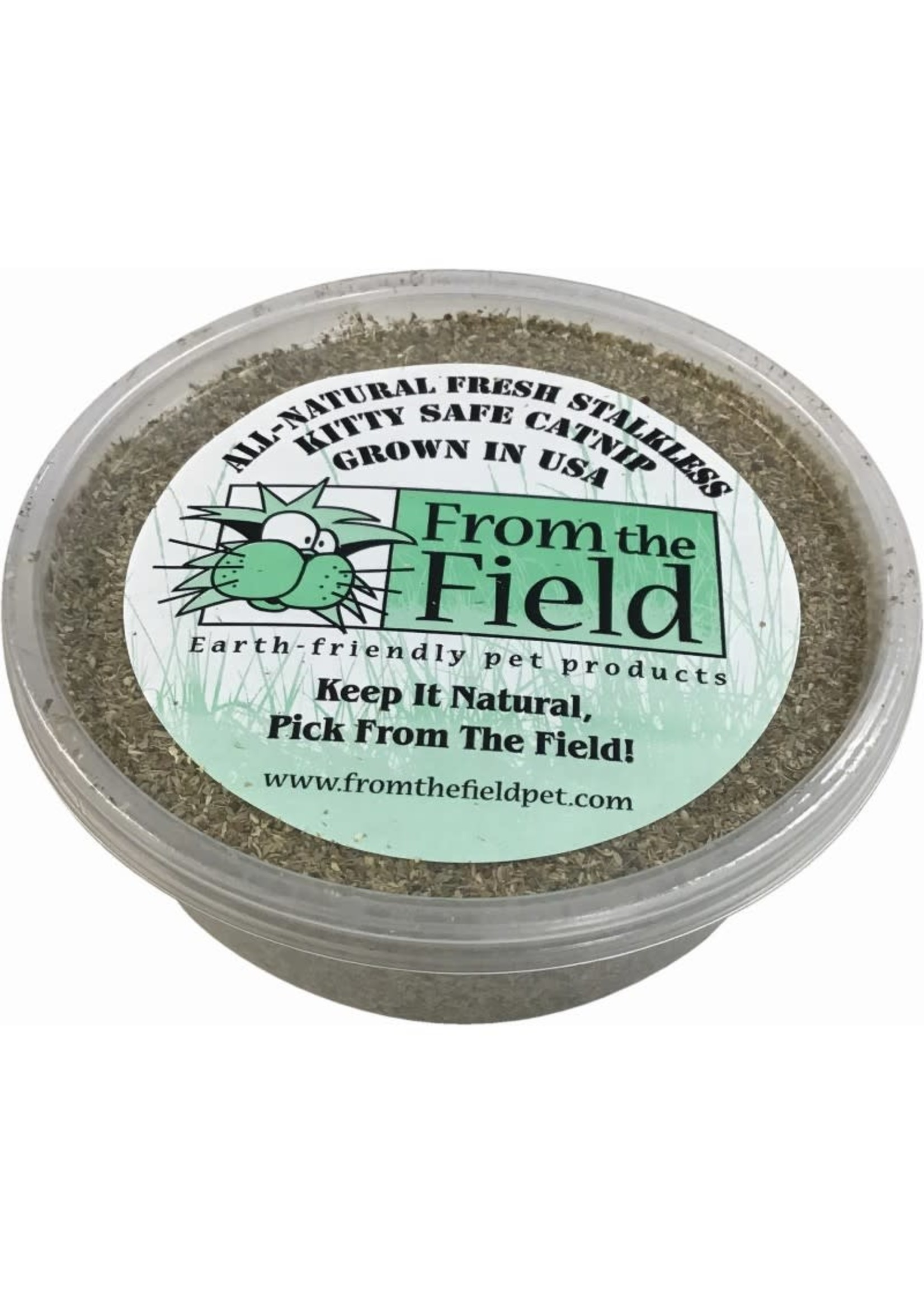 From The Field From The Field Catnip Stalkless Tub 2oz