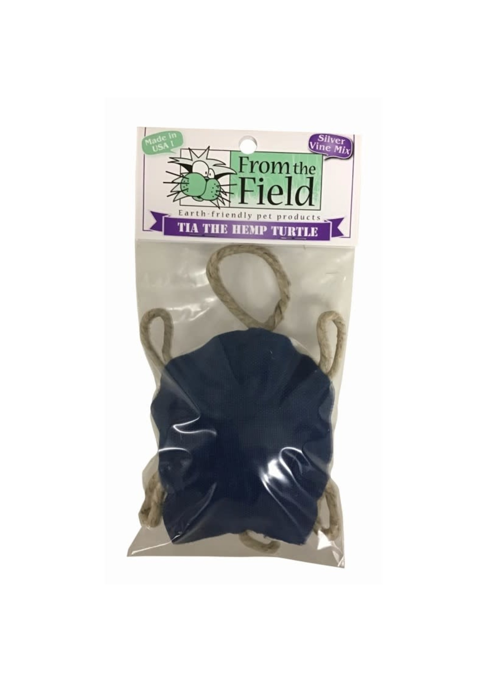 From The Field From the Field Tia Hemp Turtle Silver Vine
