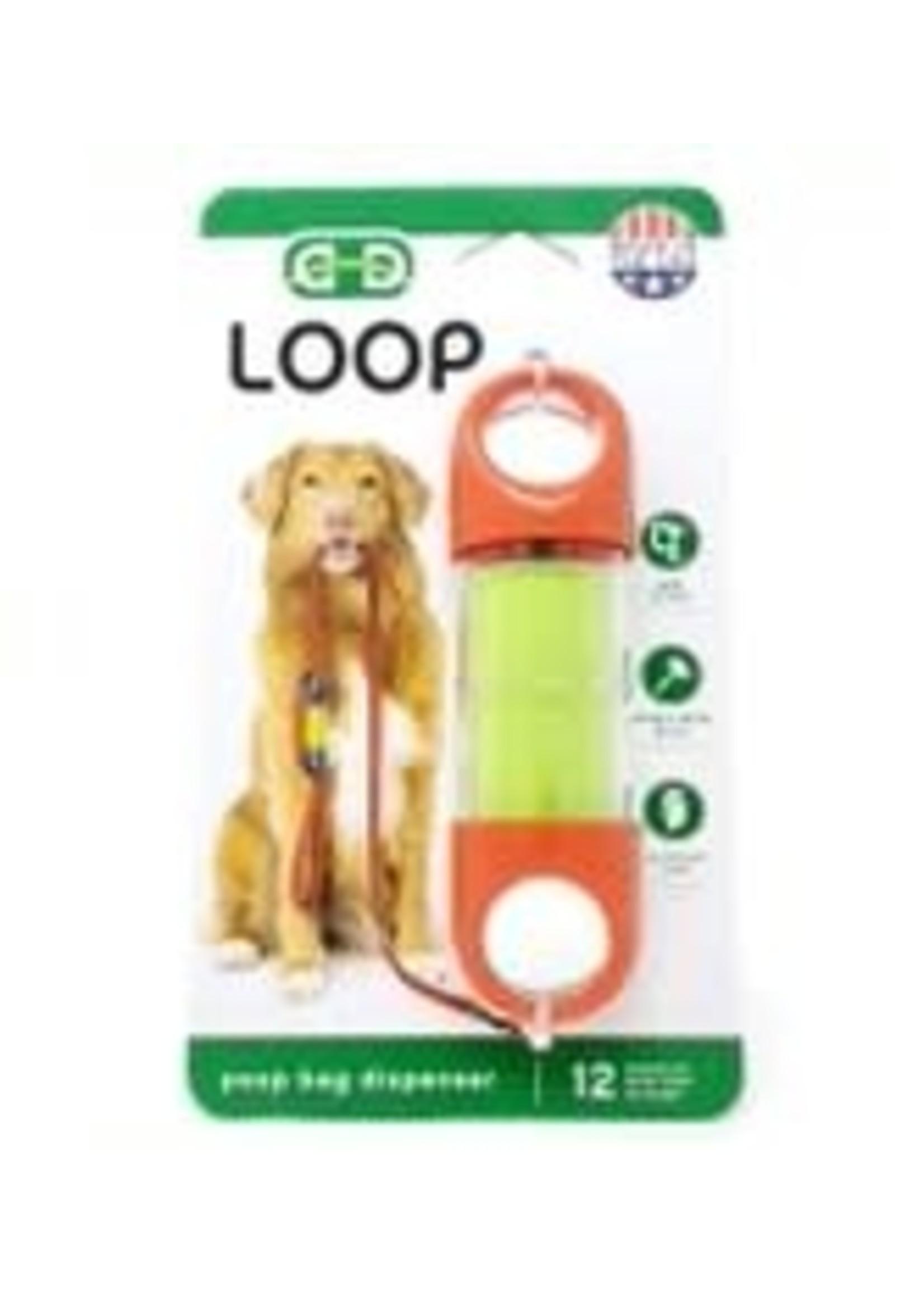 Greenline Pet Supply Loft 312 Loop Orange