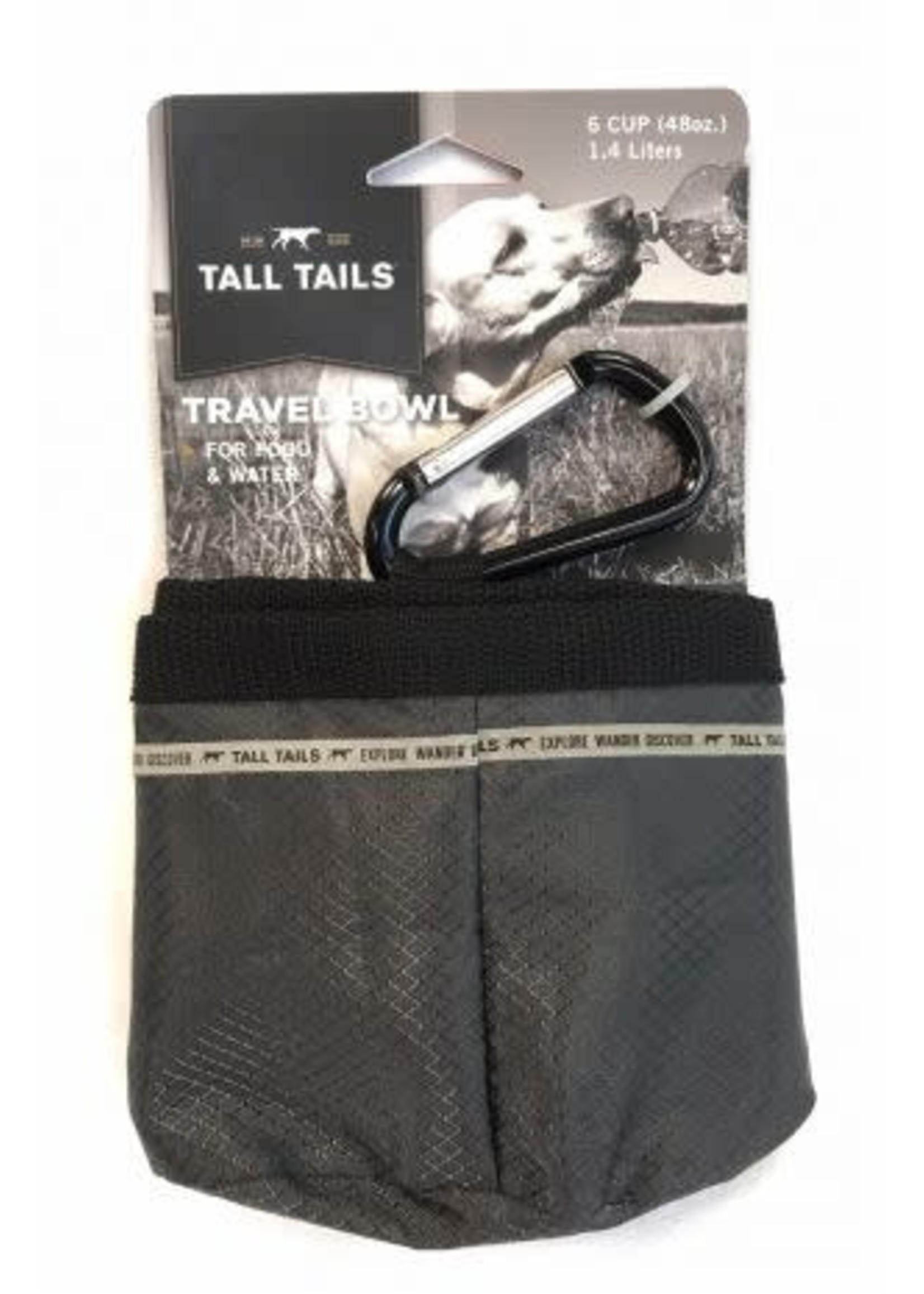 Tall Tails Tall Tails  6 Cup Travel Bowl