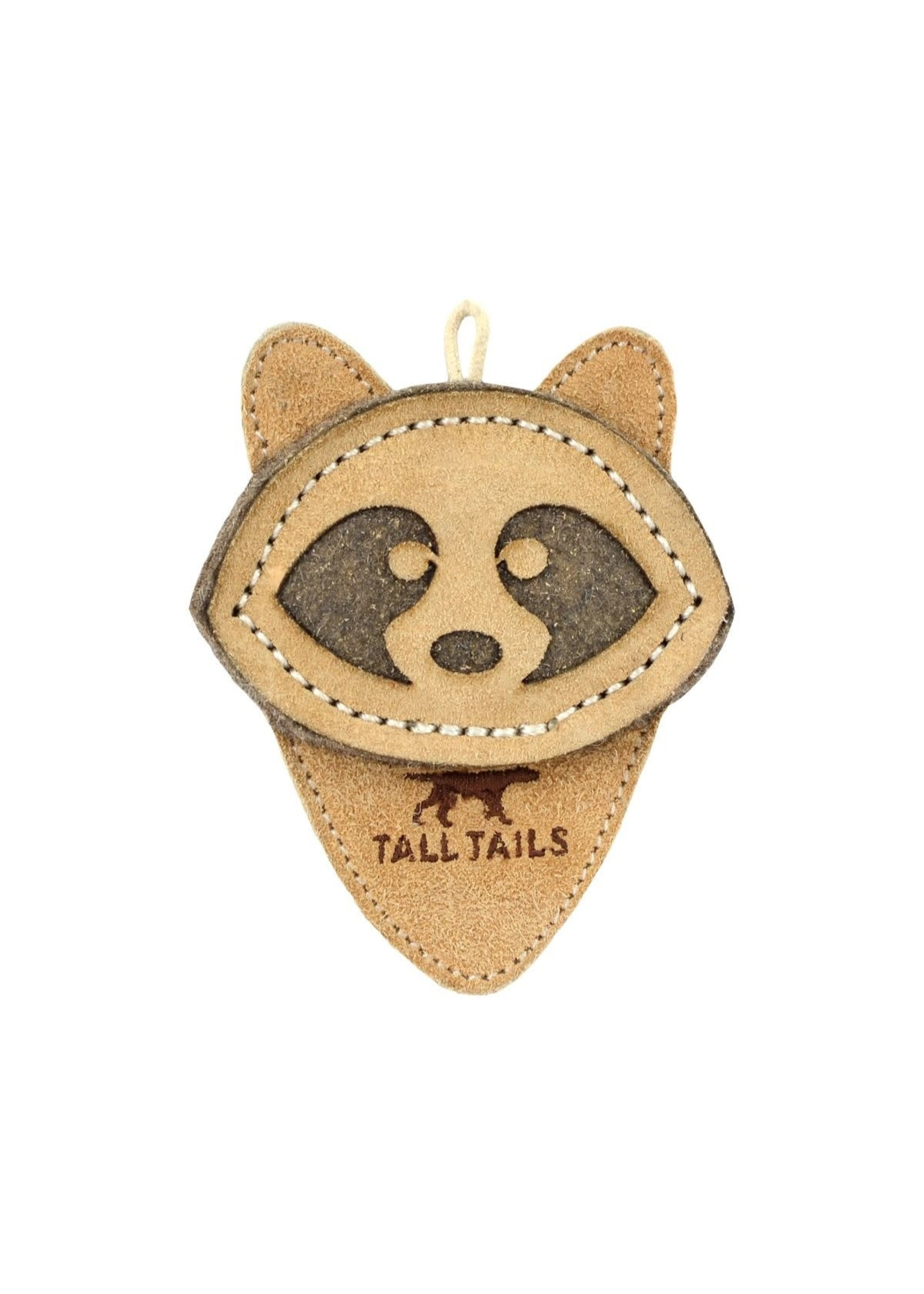 """Tall Tails Tall Tails Leather Raccoon 4"""""""