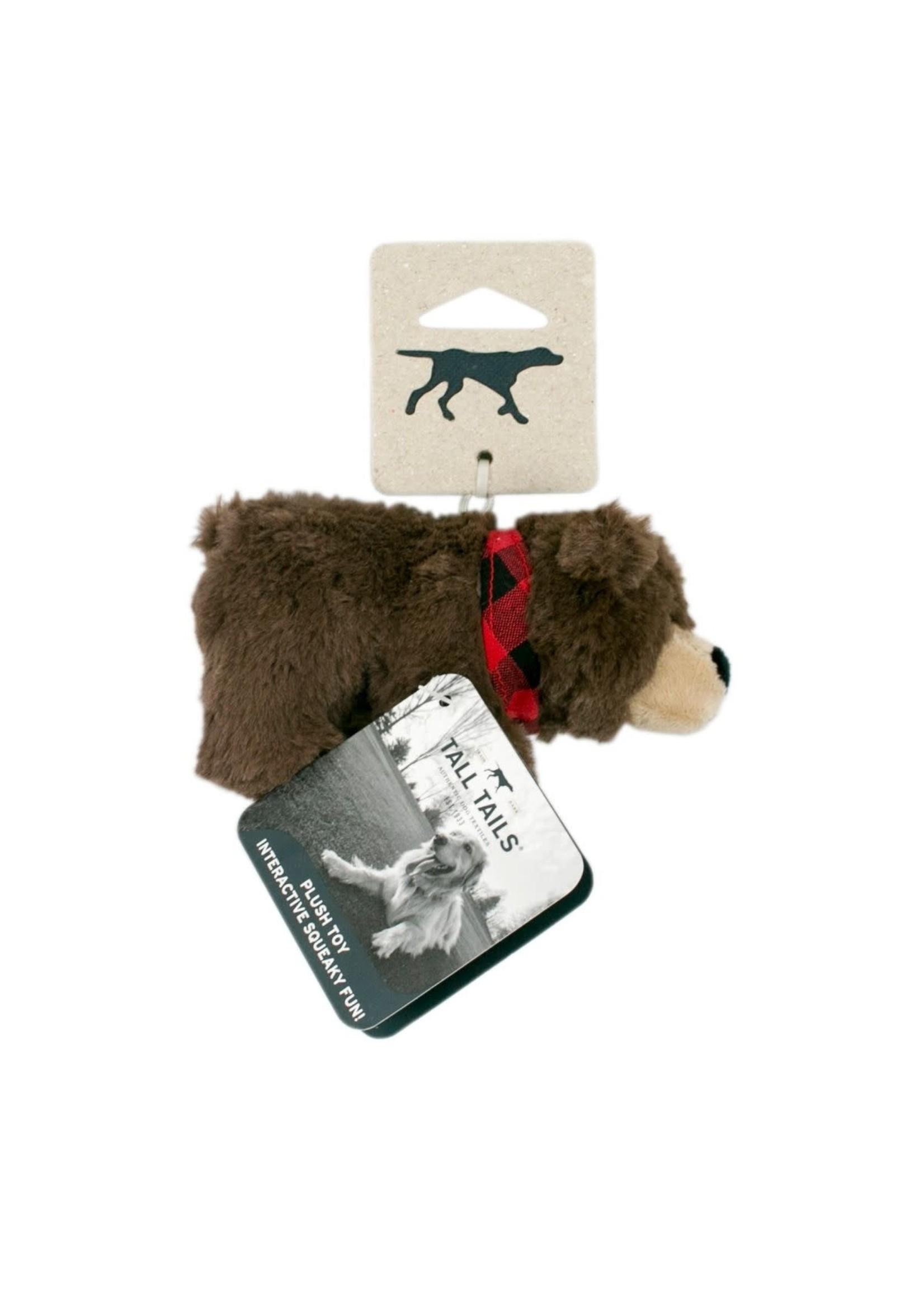 "Tall Tails Tall Tails Plush Squeaker Bear 9"""