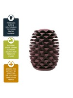 """Tall Tails Tall Tails Natural Rubber Pinecone 4"""""""