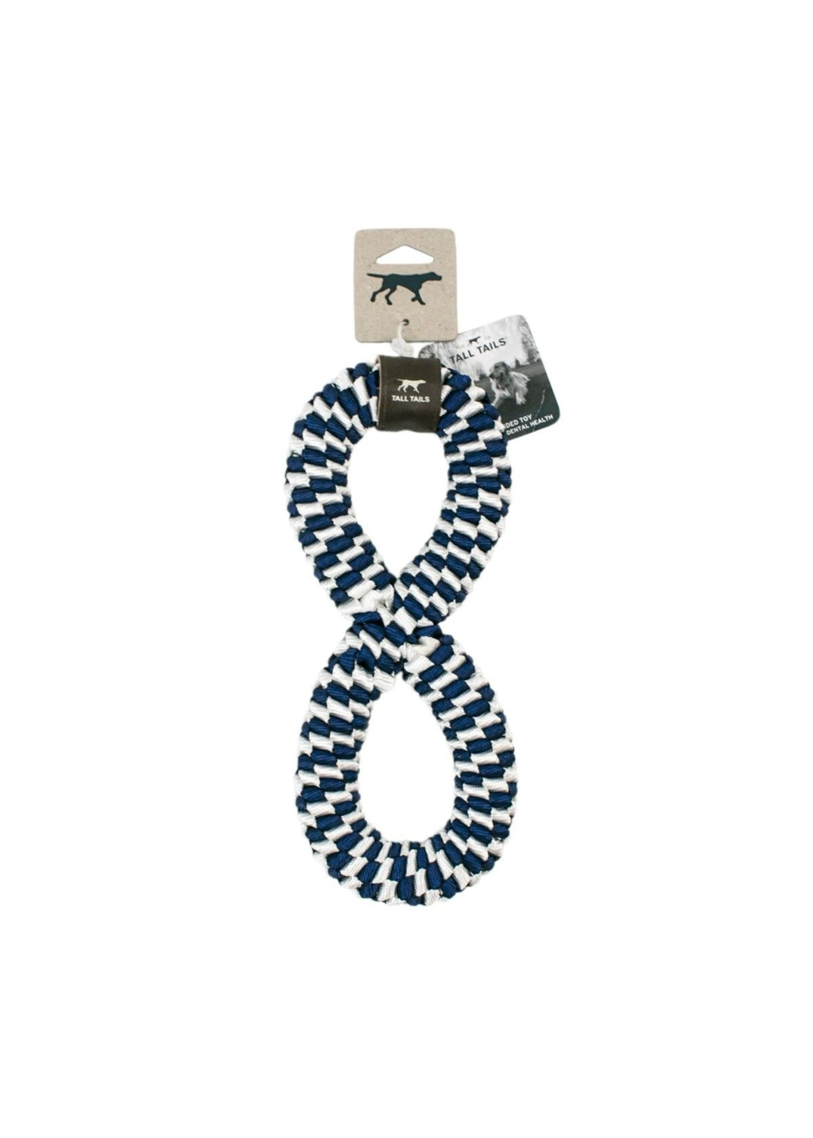 Tall Tails Tall Tails Braid Infinity Ring Navy
