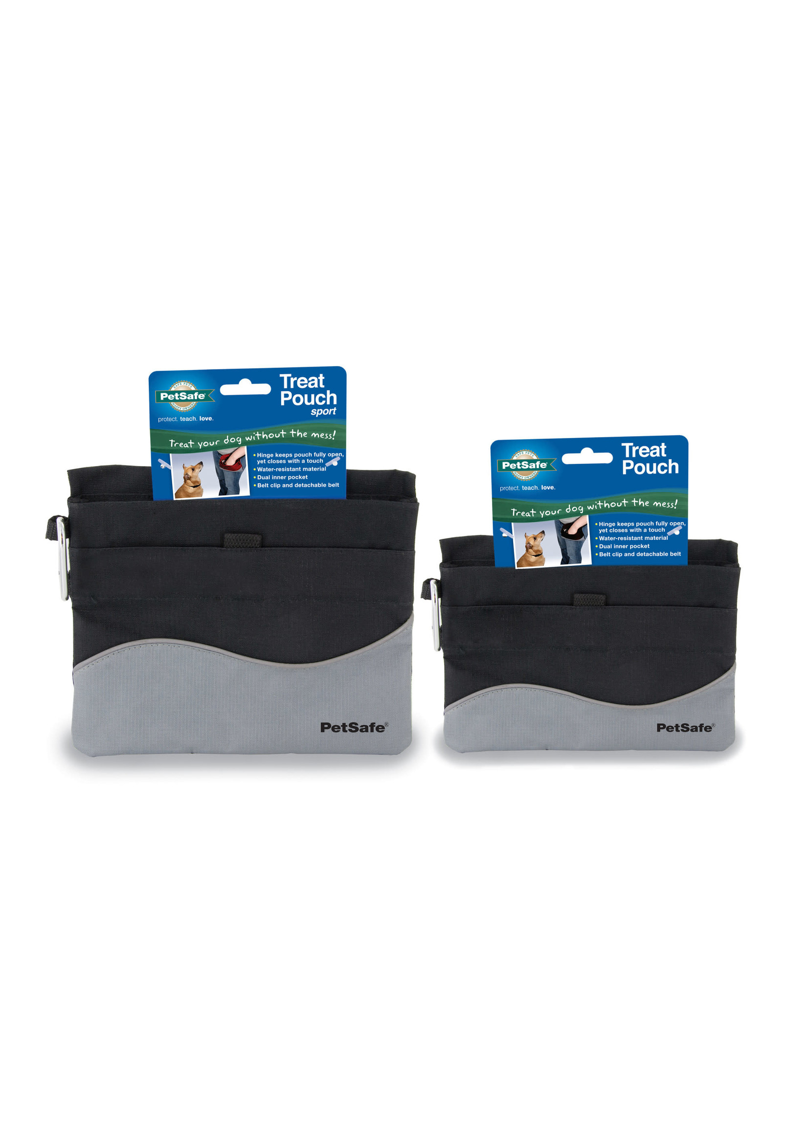 PetSafe PetSafe Treat Pouch Sport Black Mini