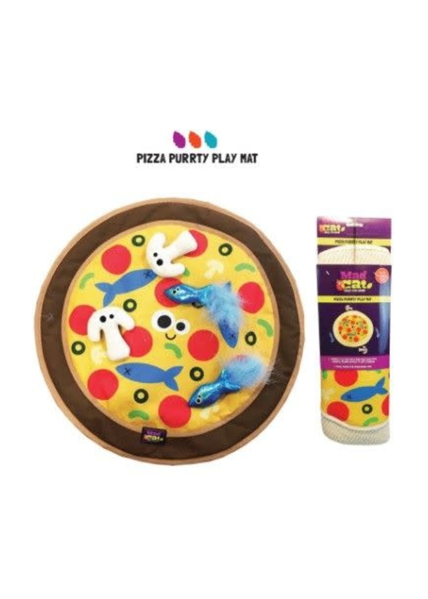 Mad Cat Mad Cat Pizza Purrty Play Mat