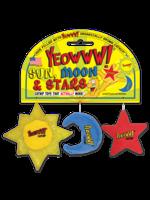 Ducky World Ducky World Yeowww Catnip Sun Moon Star 3pk