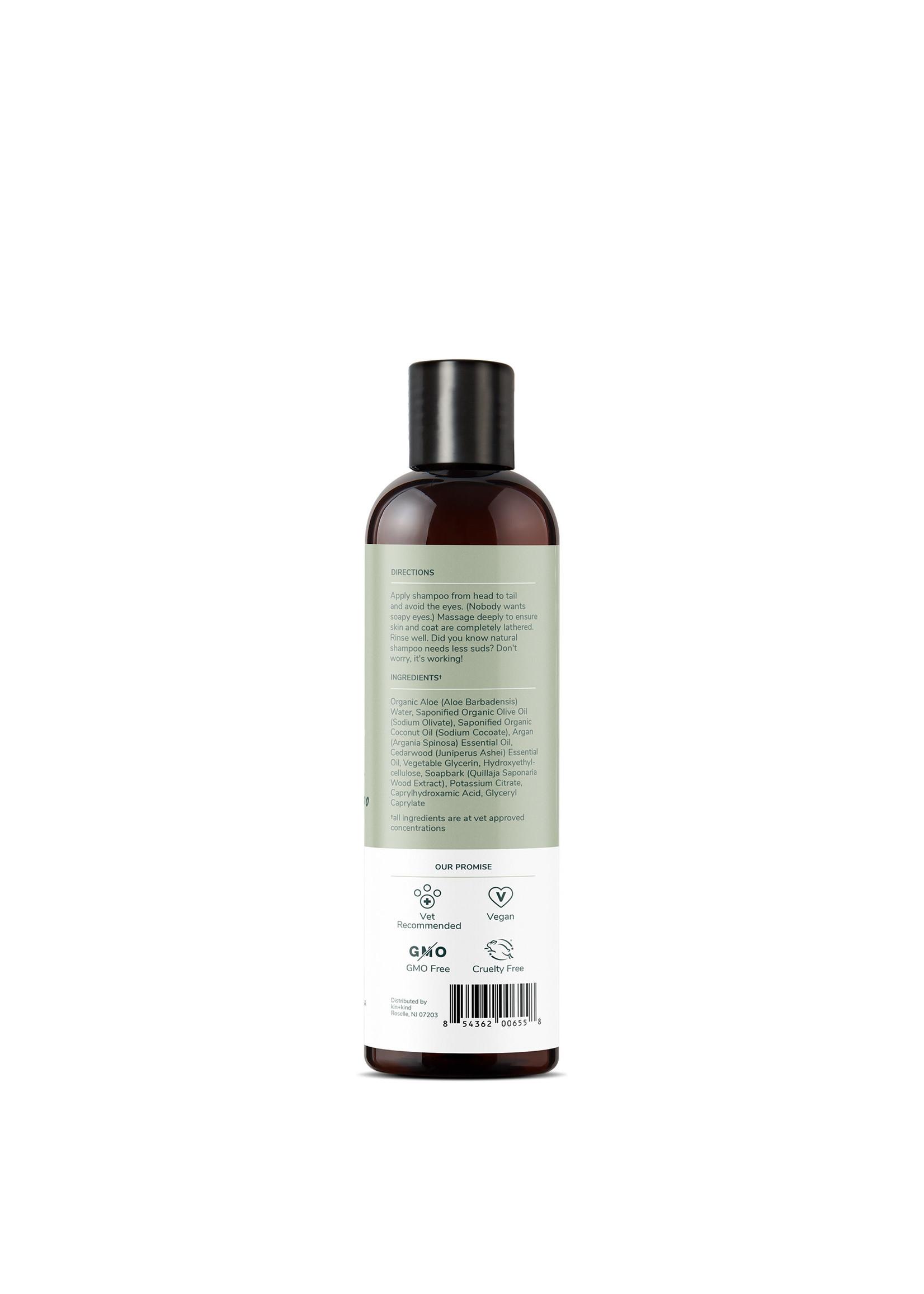 Kin + Kind Kin & Kind Cedar Argan Repair Dry Skin & Coat Shampoo 12 oz