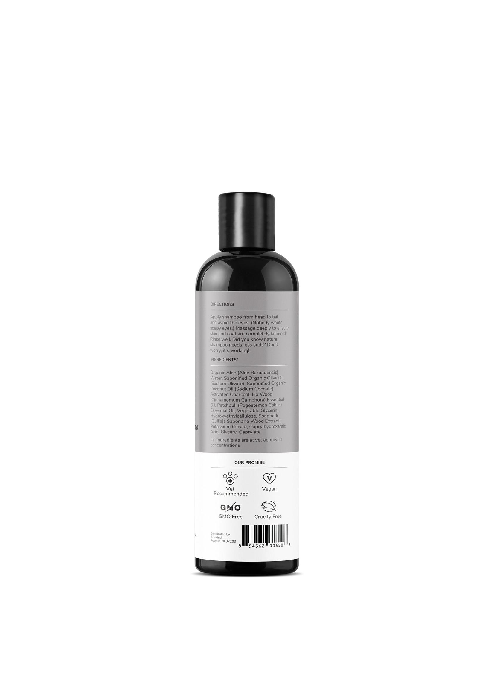 Kin + Kind Kin & Kind Charcoal Shampoo - Patchouli 12 oz