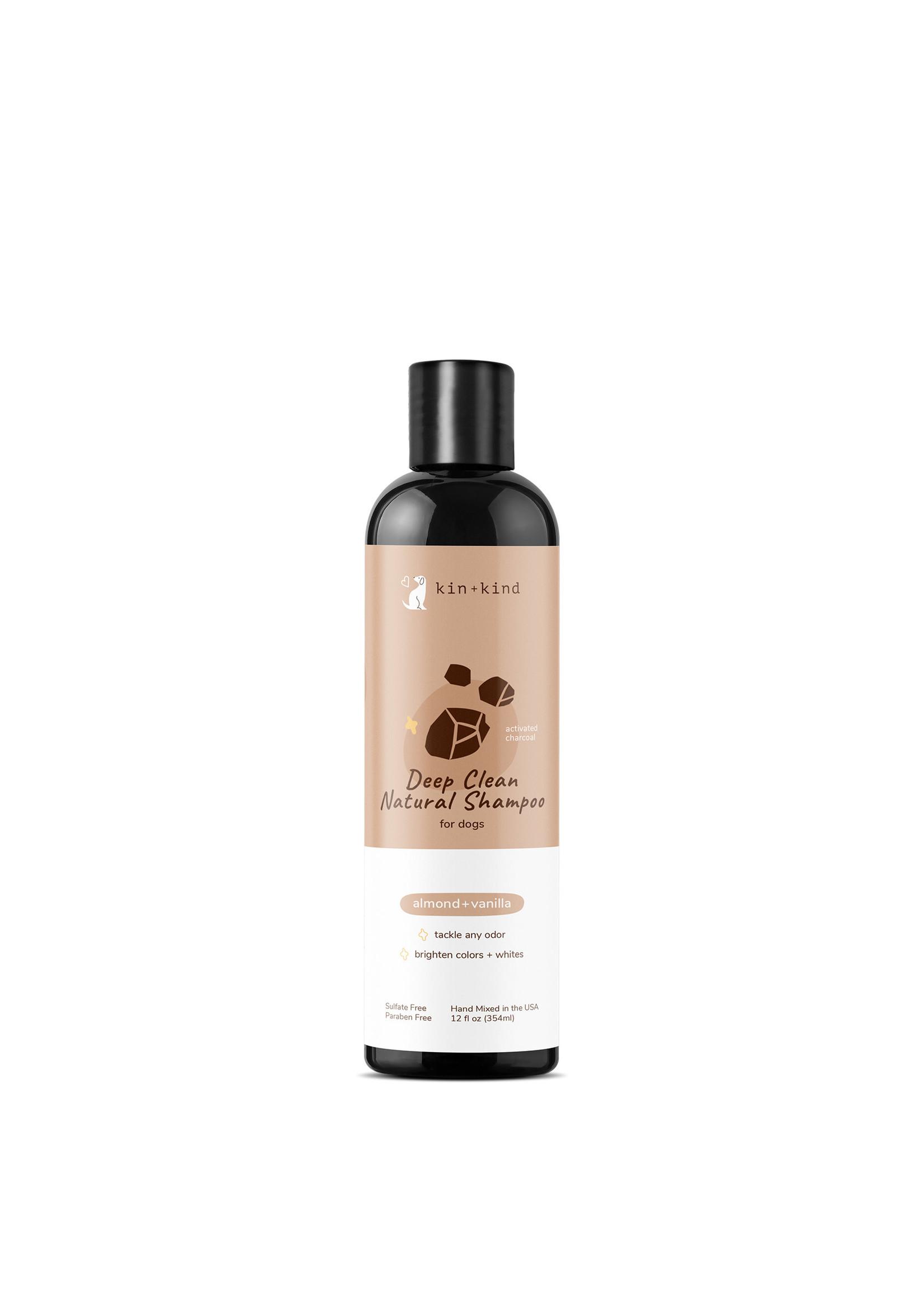 Kin + Kind Kin & Kind Deep Clean Almond and Vanilla Shampoo 12 oz