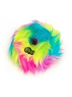 GoDog GoDog Furballz Ring Rainbow S