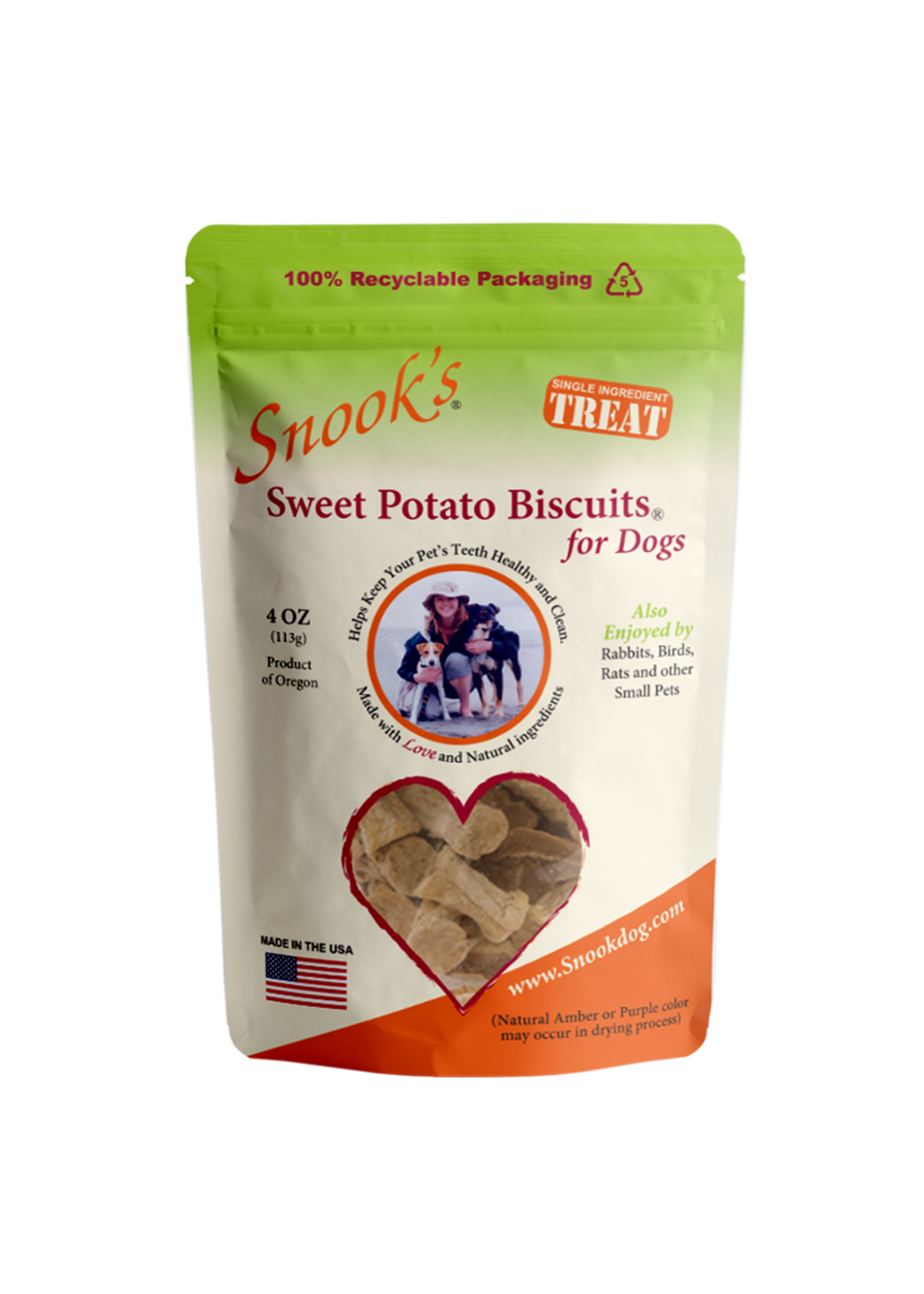 Snook's Pet Products Snooks swt pot chip 4oz
