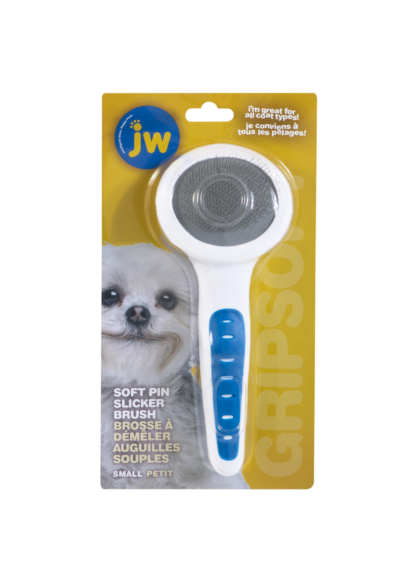 JW Pet JW Gripsoft Slicker Soft Pin Sm