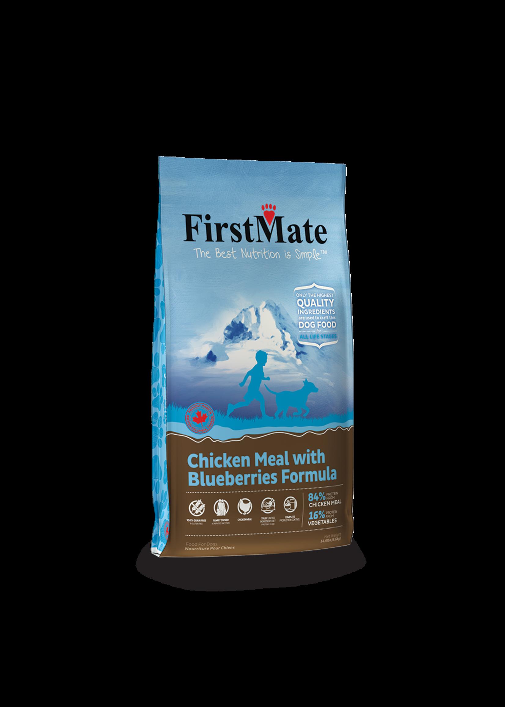 FirstMate FirstMate Grain Free Chicken &  Blueberry Dog