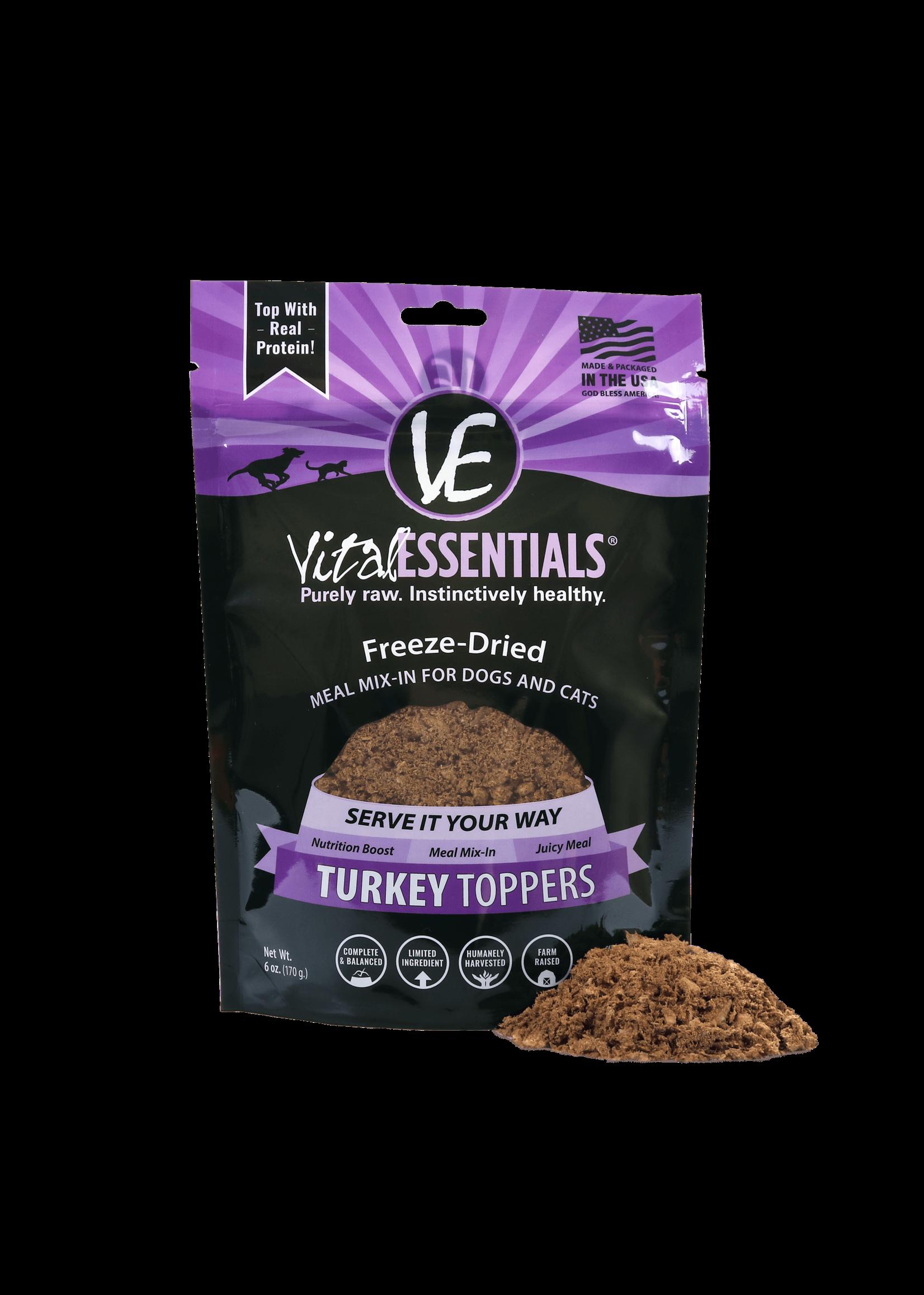 Vital Essentials Vital Essentials FD Topper Turkey 6 oz