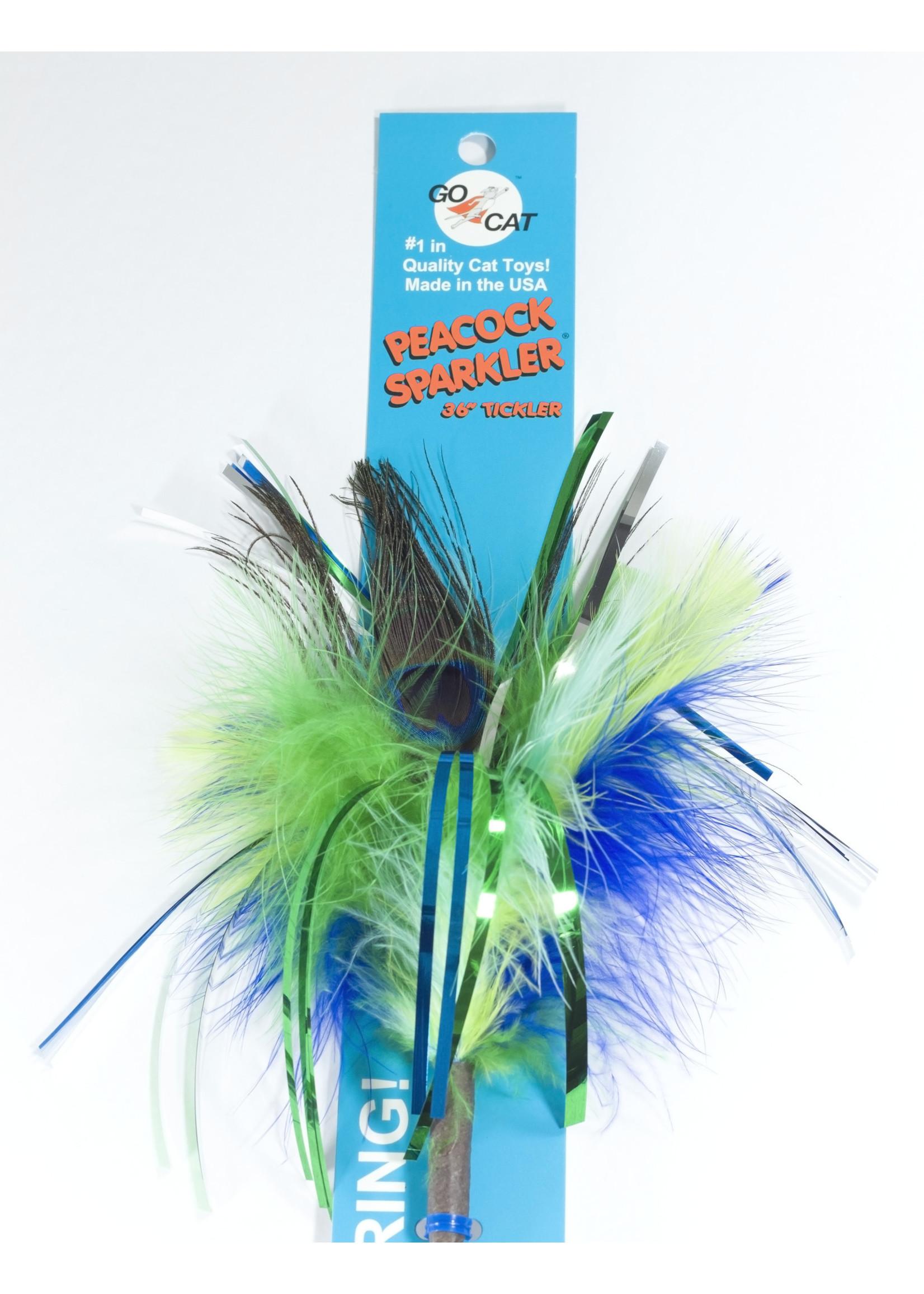 Go Cat Go Cat Peacock Sparkler Short
