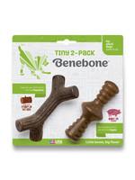 Benebone Benebone Tiny 2 pack Zaggler Bacon Maple Stick